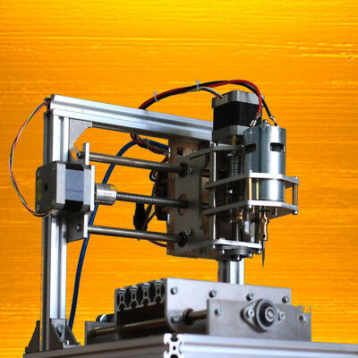 Diy 3 Axis Engraver Machine Pcb Milling Wood Carving Engraving Router Kit Cnc Us