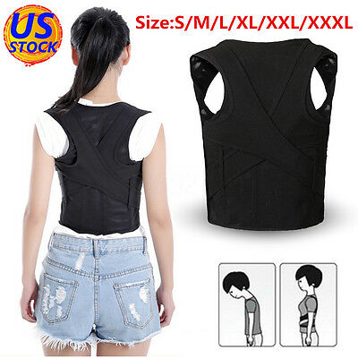 Adjustable Chest Back Shoulder Support Belt Posture Corrector Brace For Children