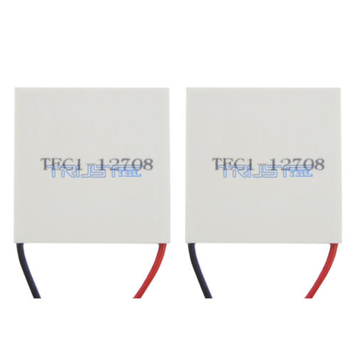2x NEW TEC1-12708 Thermoelectric Cooler Cooling Peltier PlateModuleUSA.