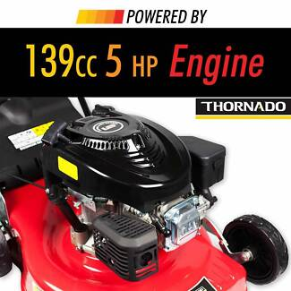 Thornado 16 Inch 5HP Hand Push Lawn Mower Lawnmower Steel Body Chipping Norton Liverpool Area Preview