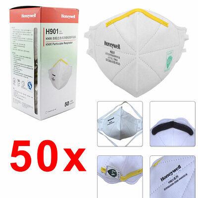 50x Honeywell® H901 Atemschutzmaske Maske Mundschutz Mundschutzmaske FFP2 KN95