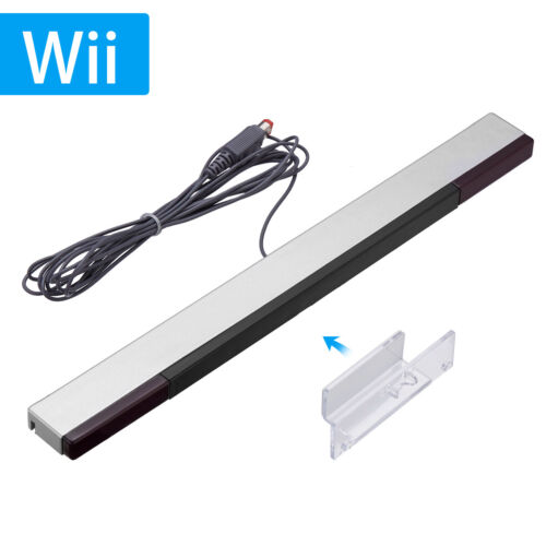 Wired Infrared Sensor Bar Ray Inductor for Nintendo Wii Wii U Remote Controller