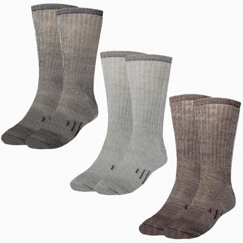 3 Pairs Thermal 80% Merino Wool Socks Hiking Crew Winter Men's Women's Kid