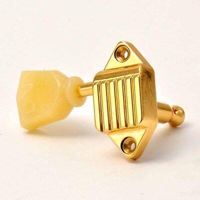 Gold Tuners 15:1 Keystone Pearl Mecaniques Waffleback 3L3R Vintage Kluson Mfg