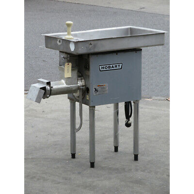 Hobart 4732a Meat Grinder 3hp 200v 3 Phase Used Very Good Condition
