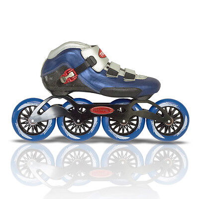 Size 10.5 Inlineskating-Artikel Inline Speed Skates TruRev w/ 105mm or 110mm wheels