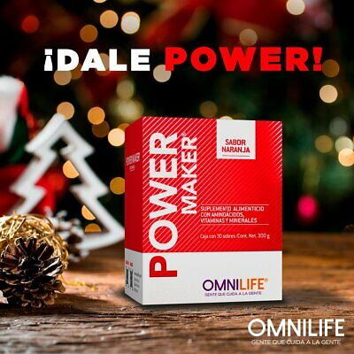 OMNILIFE POWER MAKER STRONG BONES & MUSCLES / ENERGIA- POTENCIA HUESOS FUERTES
