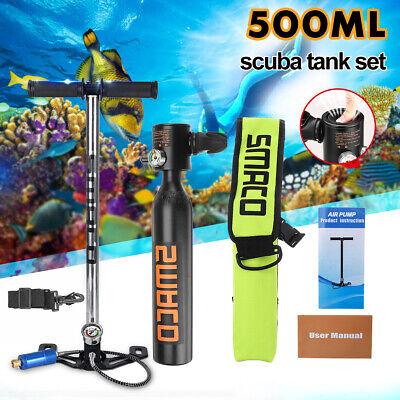 Portable Tank (Portable 5pcs SMACO Mini Scuba Diving Spare Oxygen Cylinder Air Tank Equipment)