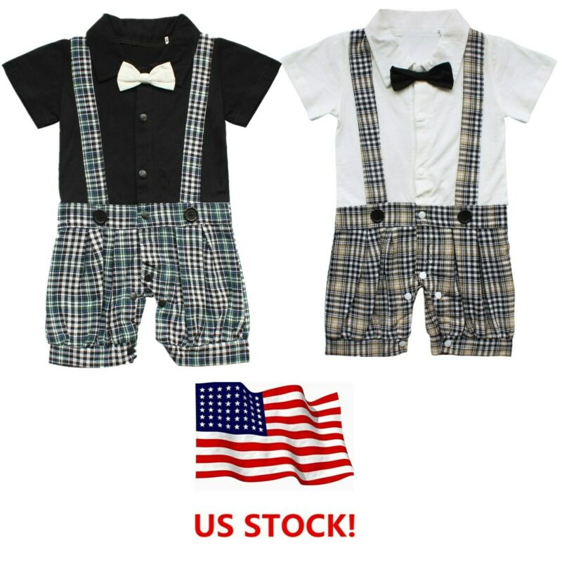 Baby Boy Cake Smash 1st Birthday Suspenders Bloomers Outfit