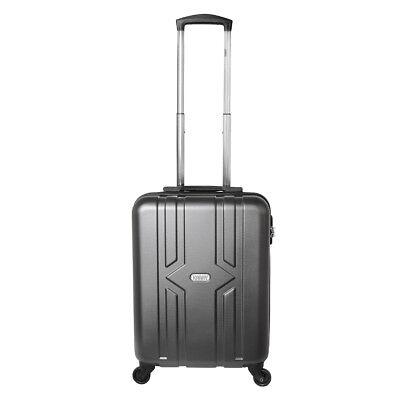 Equipaje de mano rígida con ruedas equipaje de mano 30 litros Antracita 821, usado segunda mano  Embacar hacia Spain