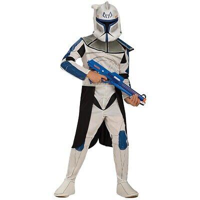 Clone Trooper Captain Rex Costume Kids Star Wars - Clone Trooper Halloween Kostüme