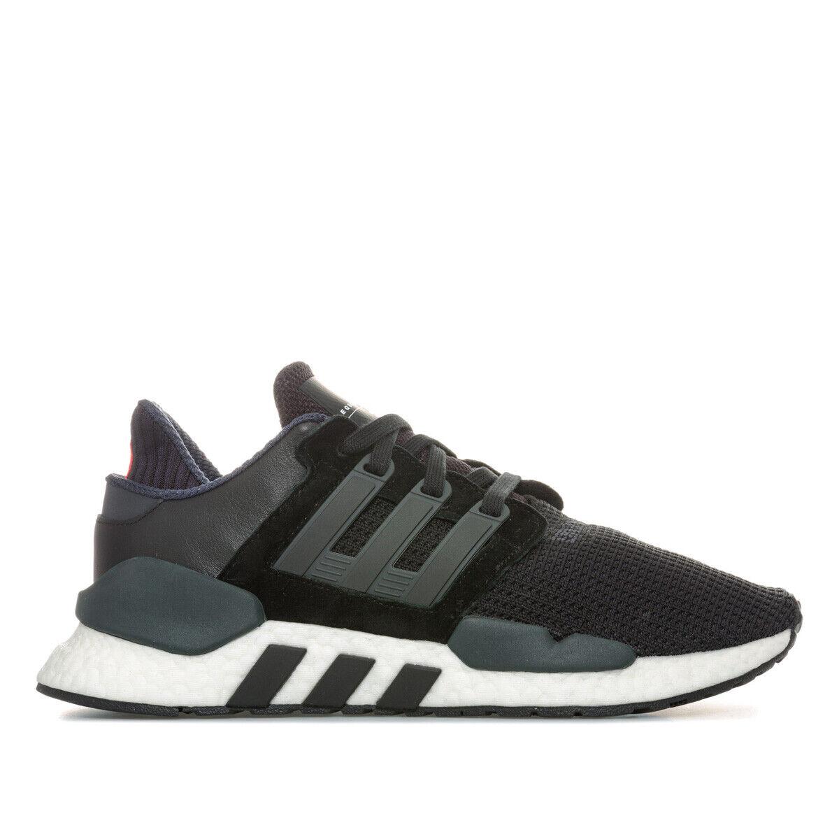 Mens Adidas EQT Support 9118 BlackWhite Trainers (TGF39) RRP £149.99