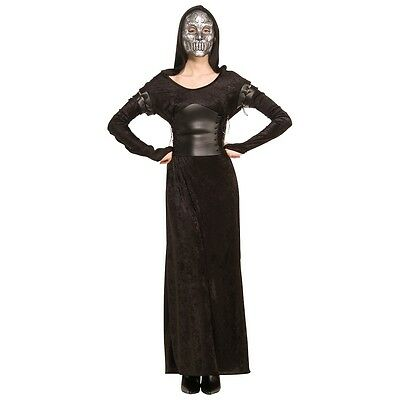 Female Death Eater Bellatrix Costume Adult Harry Potter Halloween Fancy Dress