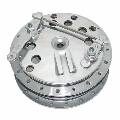 TWIN LEADING FRONT BRAKE DRUM HUB ASSY FOR TRIUMPH NORTON RE BULLET CL