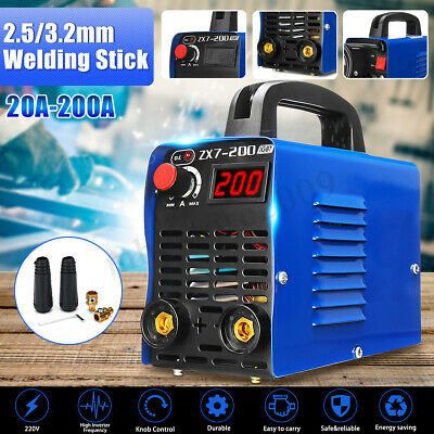 220v Zx7-200 Electric Igbt Welder Inverter Mmaarc Welding Soldering Machine