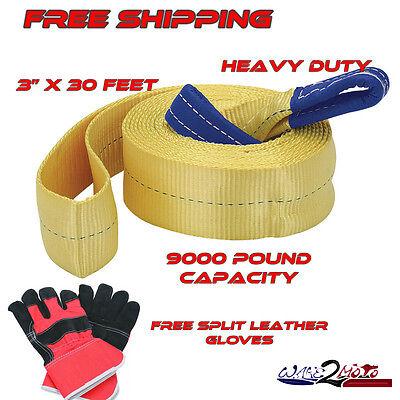 Heavy Duty Tow Recovery Rescue Strap POLARIS SPORTSMAN 550 570 800 850 1000 HO