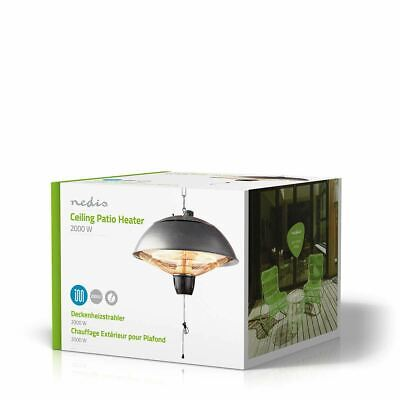 Nedis Patio Heater With Ceiling Mounting 2000W IP24 HTPA14EGY