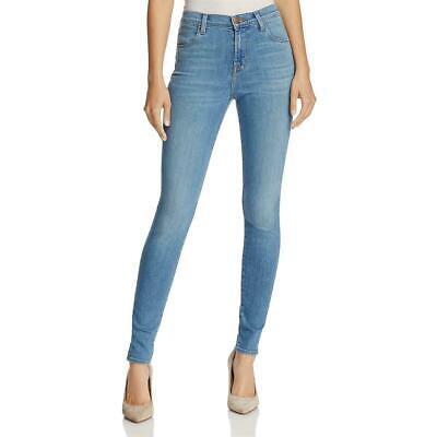 J Brand Skinny (J Brand Womens Maria Blue Indigo Wash Denim Mid-Rise Skinny Jeans Sz 29,30,31 )