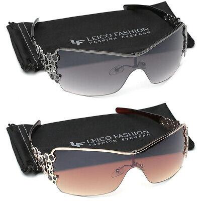 Big Oversized Shield Sunglasses for Women Unique Design Cool Fashion (Cool Sunglasses For Women)