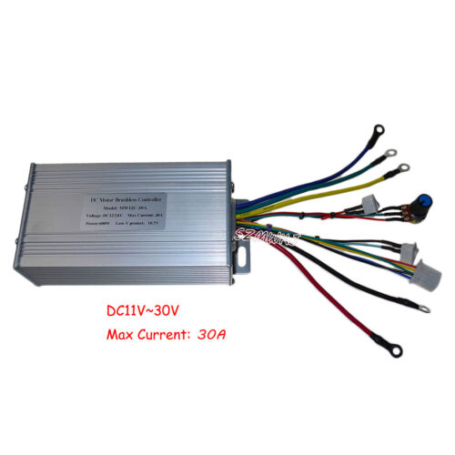 DC 12V-24V Brushless Motor Controller High Power 30A Hall Hydraulic Pump Driver