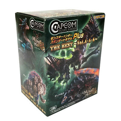 (Single Random Box) Capcom Monster Hunter Plus Best Vol. 4,5,6 Blind Box (Monsters 5 Figure)