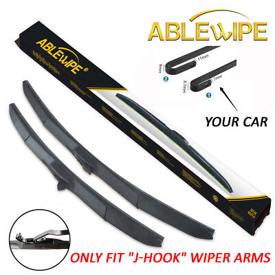 (ABLEWIPE 18''+18'' For FORD RANGER 1993-2011 Windshield Wiper Blades (Set of 2))