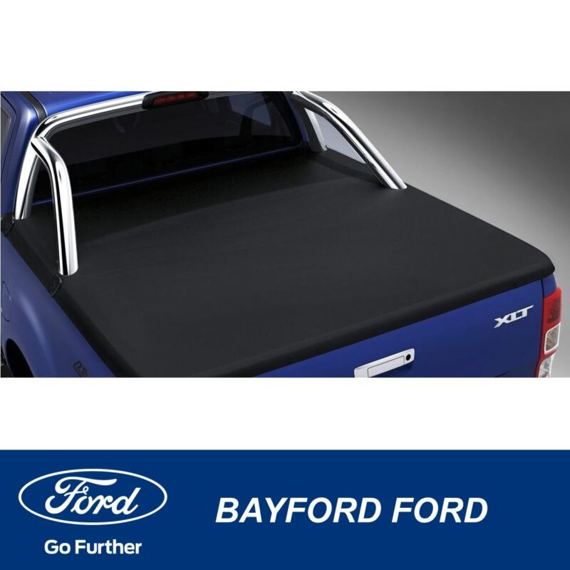Genuine Ford Ranger Soft Tonneau Cover With Sports Bar Crew Cab Pick Up Ebay