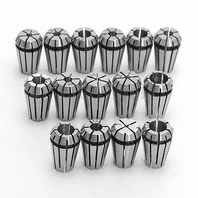 15pcs Er11 Spring Collet Set For Cnc Engraving Machine Milling Lathe Tool Diy