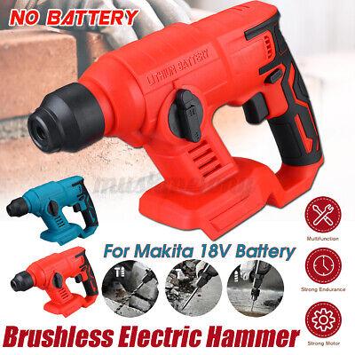 Cordless Brushless Sds Plus Rotary Hammer Drill Body For Makita 18v Battery