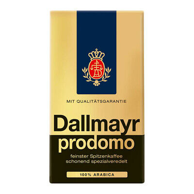 Dallmayr Prodomo 500g Pack Kaffee gemahlen - MHD abgelaufen - Sonderpreis