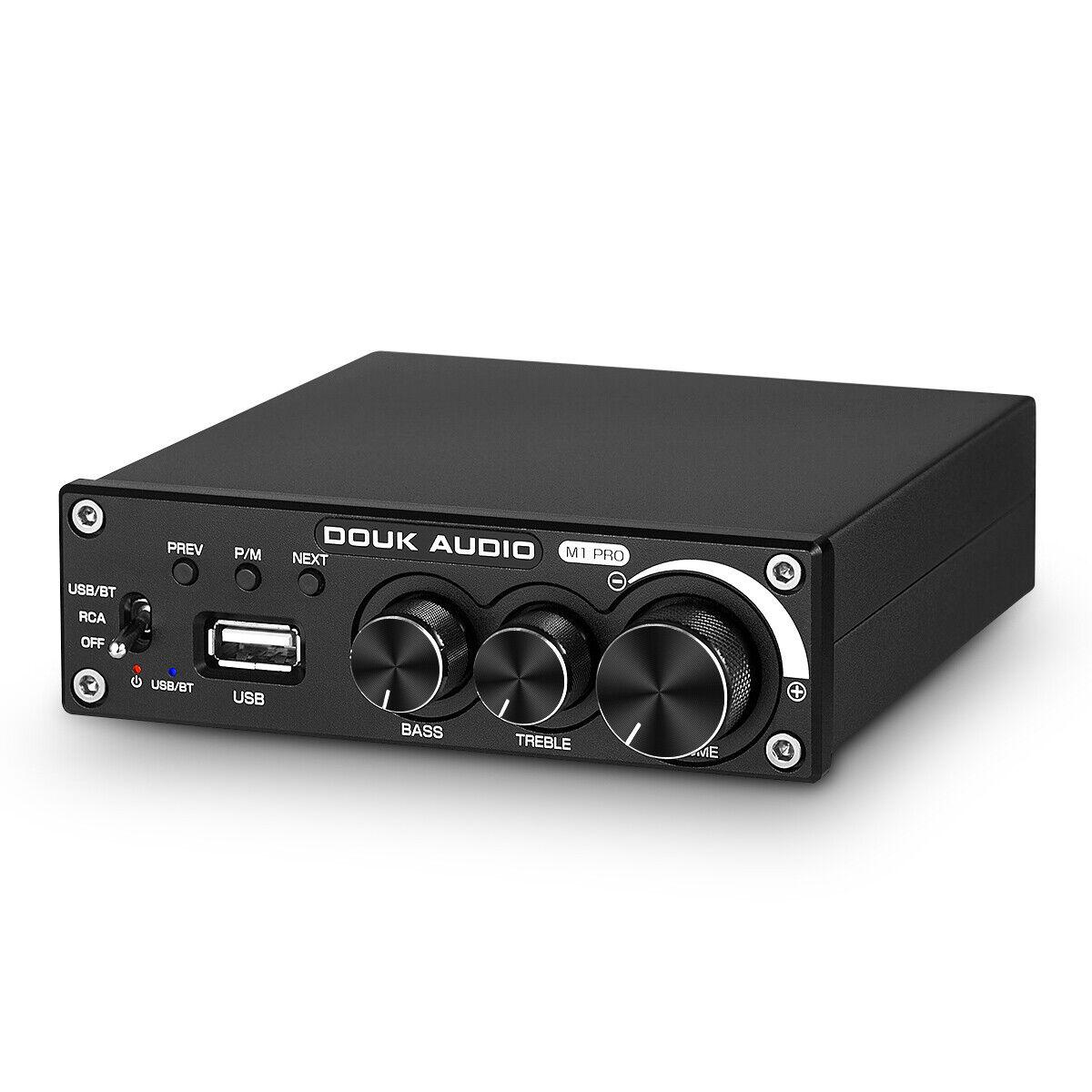 320W Bluetooth 5.0 Leistungsverstärker Mini Stereo Power Amplifier  Subwoofer Amp