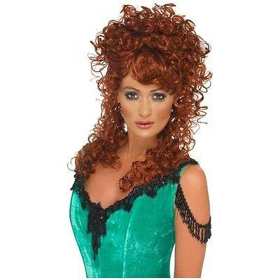 Saloon Girl Wig Costume Accessory Adult Halloween