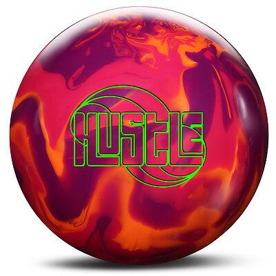 Roto Grip Hustle Bowling Ball Nib 1St Quality Purple Raspberry Orange