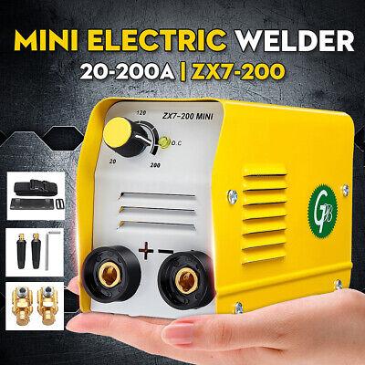 Electric Welder Machine 220v 200a Zx7-200 Minigb Igbt Dc Inverter Arc Mma Stick