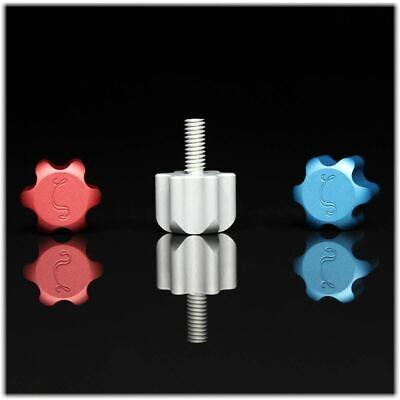 8-32 Thumb Screws Alphamega Cnc  Made In Usa