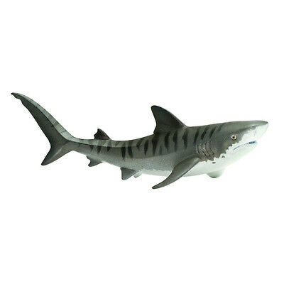 Tiger Shark Dark Blue Sea Life Figure Safari Ltd NEW Toys Educational Toys Kids