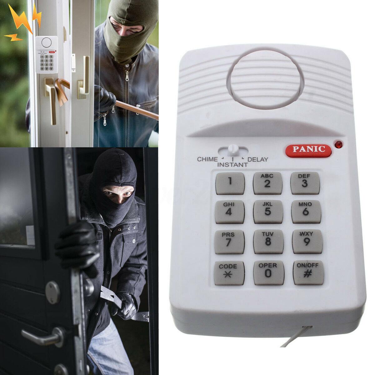 Security Keypad Door Alarm System For Home Office Shed Garag