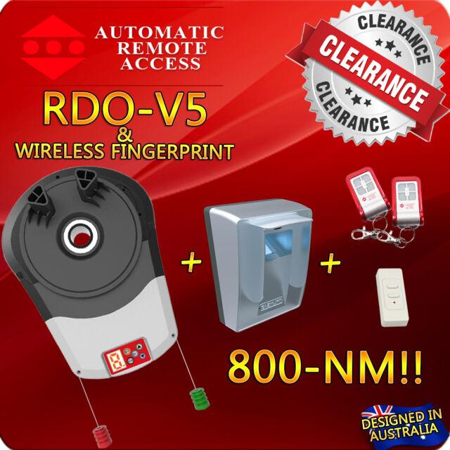 Ara Rdo V5 Roller Garage Door Motor Fingerprint Controller Opener