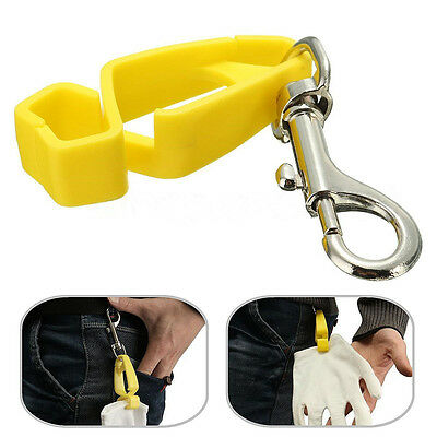 Glove Protect Clip Holder Hanger Attach Gloves Towels Glasses Helmets New QW