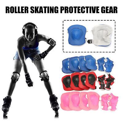 Children Skateboard Skating Elbow Wrist Knee Pads Sport Protective Gear Guard