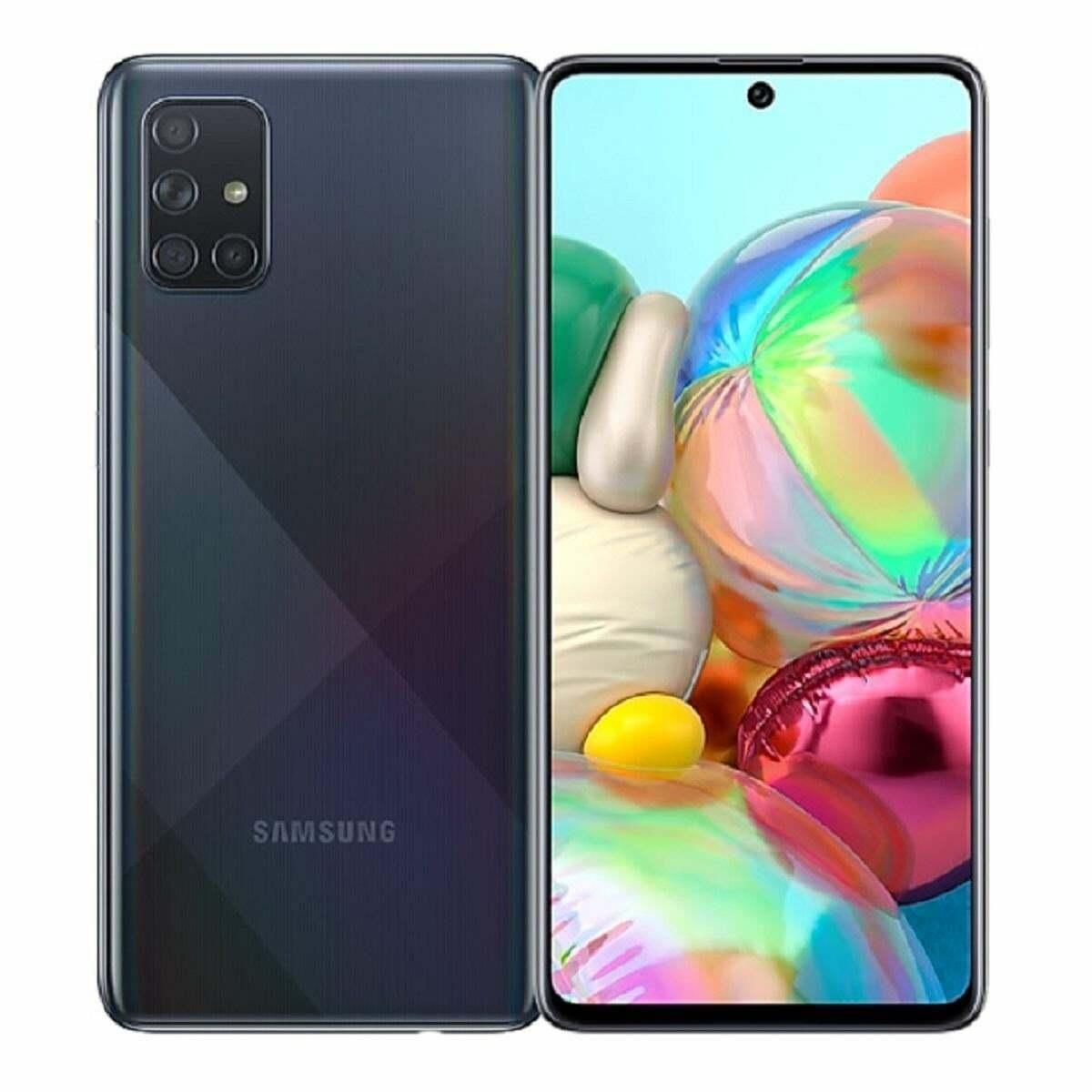 Android Phone - Samsung Galaxy A71 SM-A715F/DS - 128GB - Prism Crush Black (Unlocked) (Dual SIM)