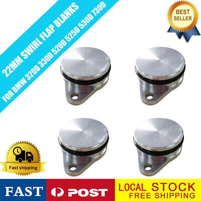 4x22 mm bouchon Clapet Swirl Flap Blank joint admission pour BMW 320d 330d 520