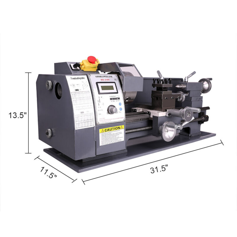 750W Lathe Variable-Speed Bench