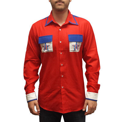 Roy Munson Bowling Shirt Kingpin Movie King Pin Costume Woody Harrelson](Kingpin Costumes)