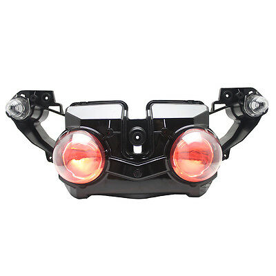 KT LED Headlight for Yamaha YZF R1 2009-2011 2009-2011 Red