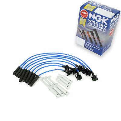 (NGK Spark Plug Wire Set 1995-2001 Ford Ranger 2.3L 2.5L L4 Kit Set Tune Up yg)