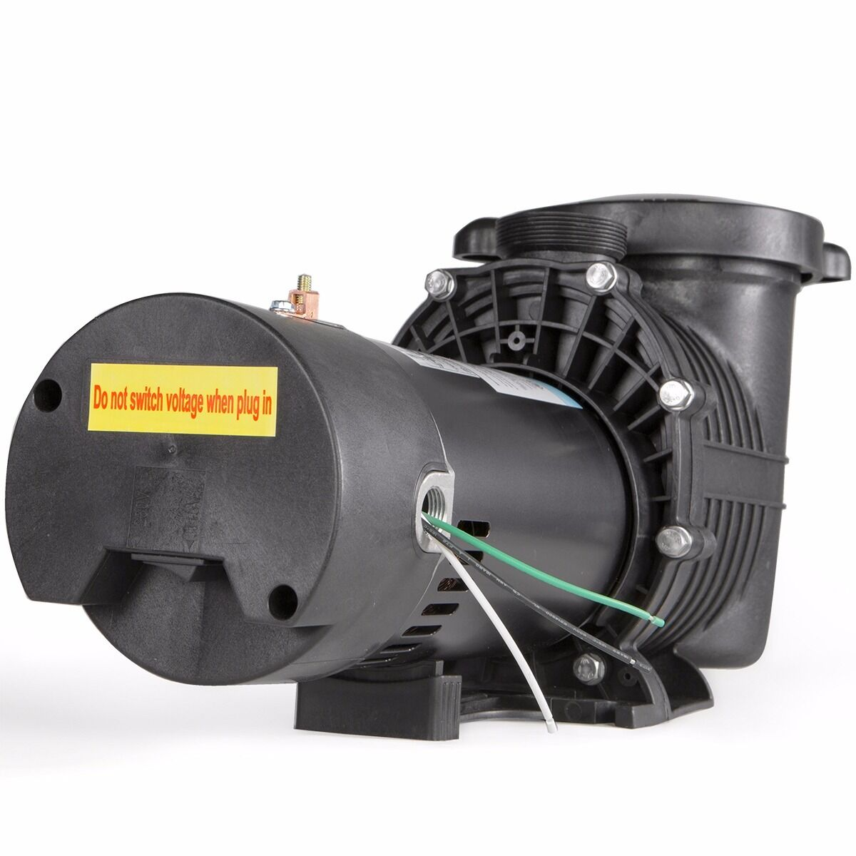 1 5hp In Ground Swimming Spa Pool Pump Motor Strainer Above Inground 115 230v Cad