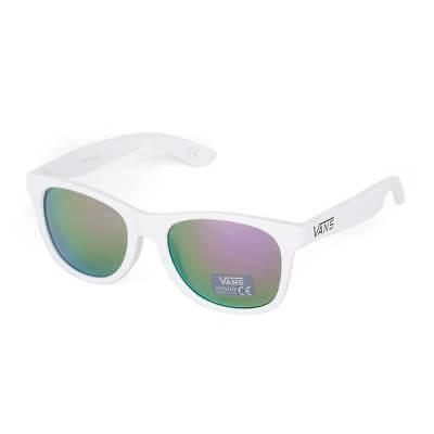 d58a1382145 Vans Spicoli 4 Shades white purple Sonnenbrille Sunglasses weiß Damen Herren