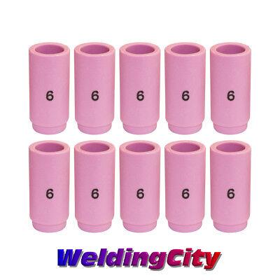 Weldingcity 10-pk Ceramic Cup Nozzle 13n10 6 38 Tig Welding Torch 92025 Us