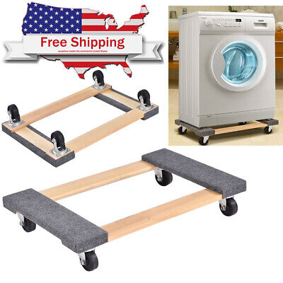 Move Furniture Moving Carrier Dolly With Casters Carpet Heavy Duty Platform